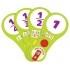 Комплект динамических раздаточных пособий. Средства обратной связи (веера). Математика 5-7 лет.